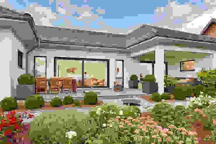 LUXHAUS Kundenhaus 01 Moderner Garten von Lopez-Fotodesign Modern
