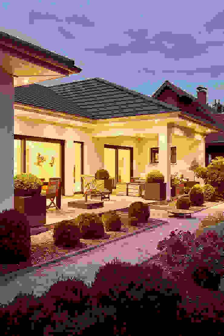LUXHAUS Kundenhaus 01 Moderner Balkon, Veranda & Terrasse von Lopez-Fotodesign Modern