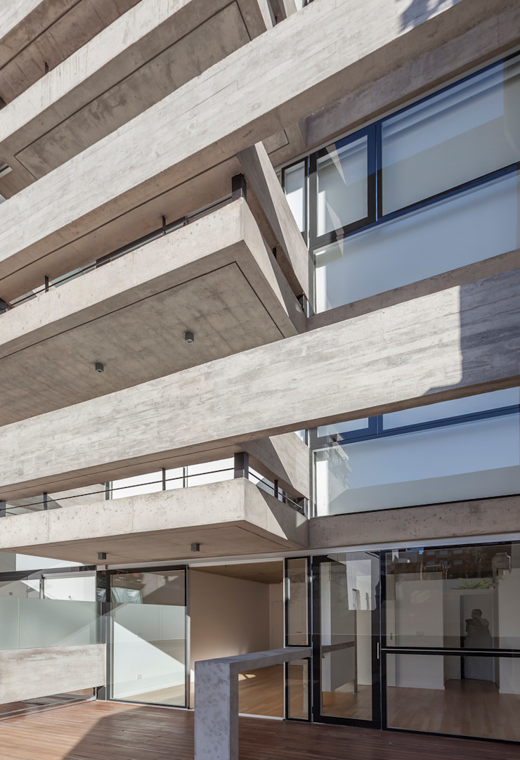 ATV Arquitectos Casas de estilo moderno Vidrio