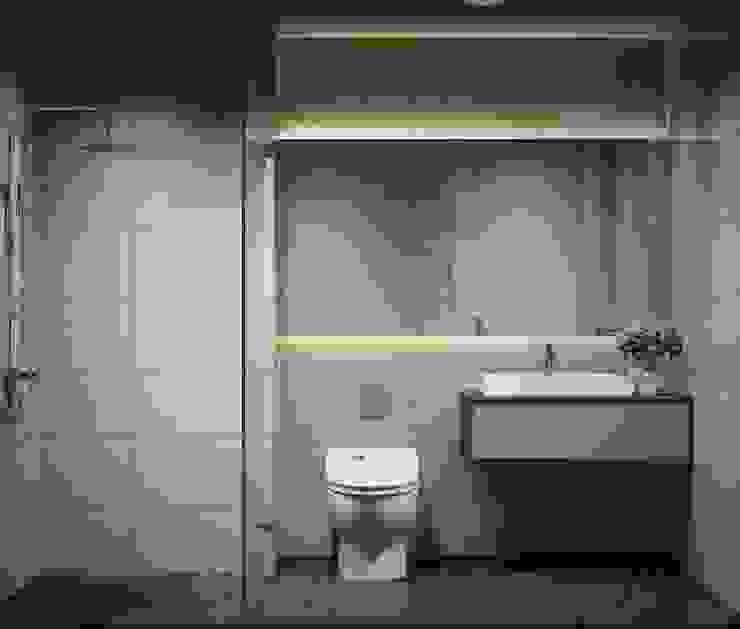 Căn hộ Masteri Thảo Điền Phòng tắm phong cách hiện đại bởi Công Ty TNHH Trang Trí Nội Thất Centimet. Hiện đại
