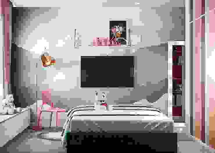Căn hộ Masteri Thảo Điền Phòng trẻ em phong cách hiện đại bởi Công Ty TNHH Trang Trí Nội Thất Centimet. Hiện đại
