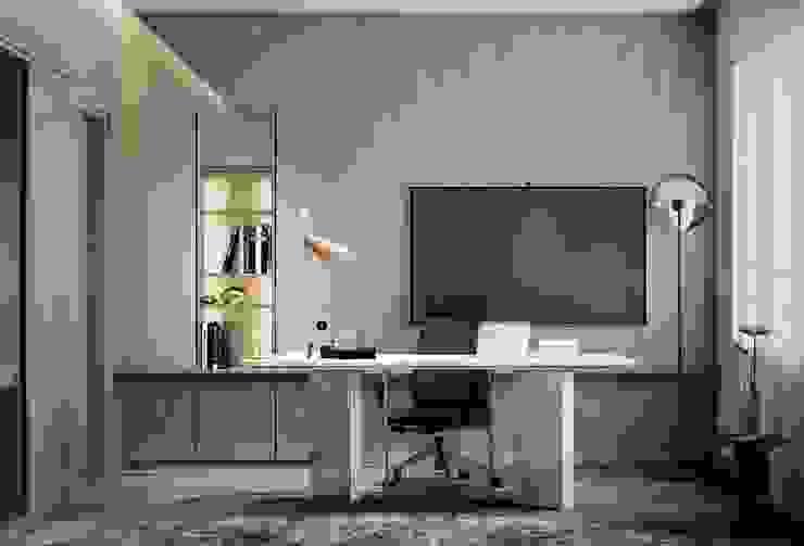 Căn hộ Masteri Thảo Điền Phòng học/văn phòng phong cách hiện đại bởi Công Ty TNHH Trang Trí Nội Thất Centimet. Hiện đại