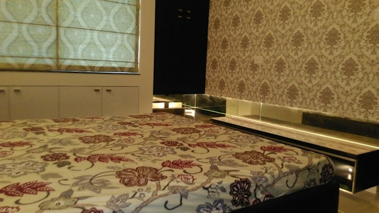 Hill Shire, Wagholi Modern style bedroom by AreaPlanz Design Modern