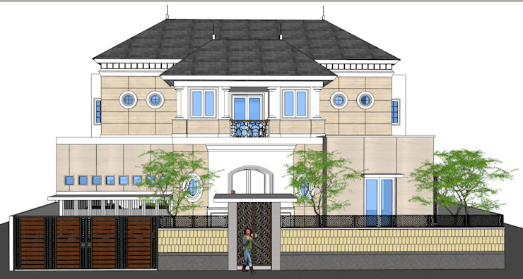 Adeline Bintaro:modern  oleh sony architect studio, Modern