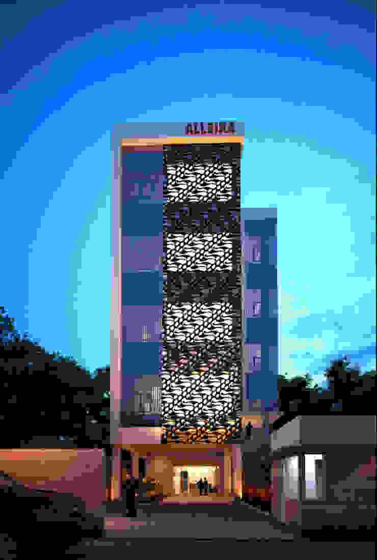 Alleira Rumah Modern Oleh sony architect studio Modern