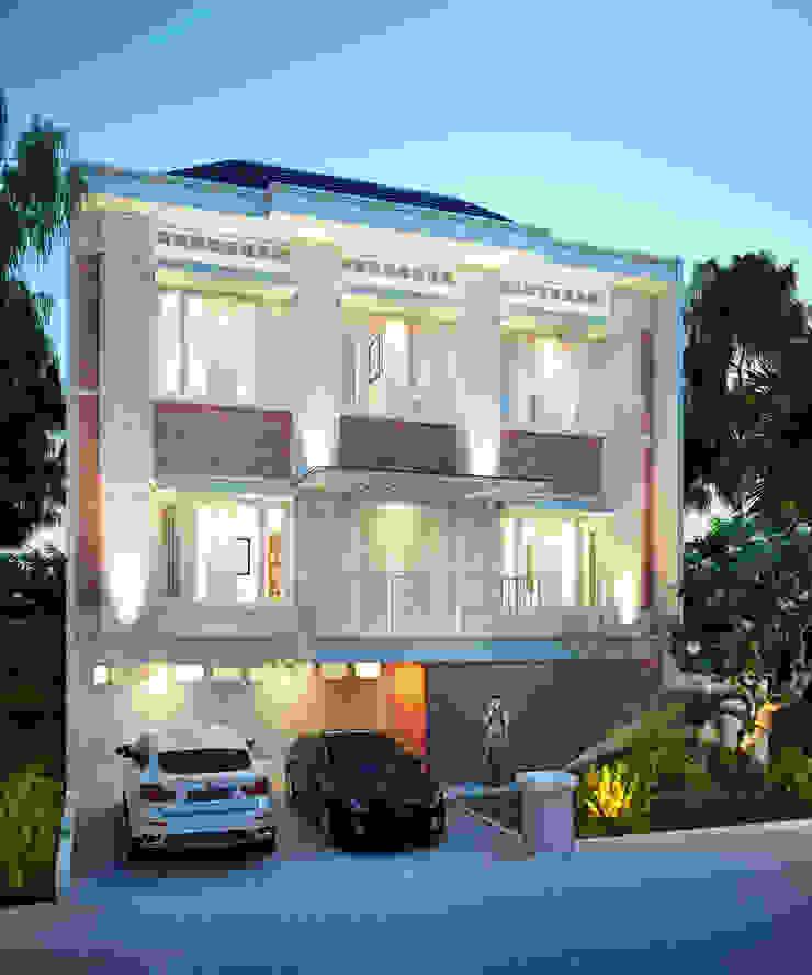 Andry Rumah Modern Oleh sony architect studio Modern