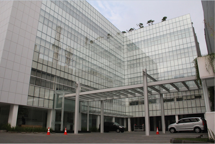 Arpeni 50 Office Bangunan Kantor Modern Oleh sony architect studio Modern