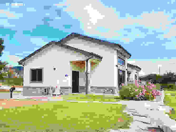 함라 신대리 2호 35평형 ALC전원주택 by W-HOUSE 모던 콘크리트
