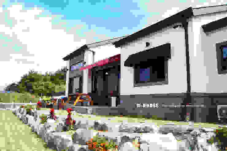 군산 2호 35평형 ALC전원주택 by W-HOUSE 모던 콘크리트