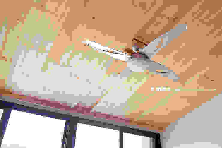 군산 2호 35평형 ALC전원주택 모던스타일 다이닝 룸 by W-HOUSE 모던 석회암