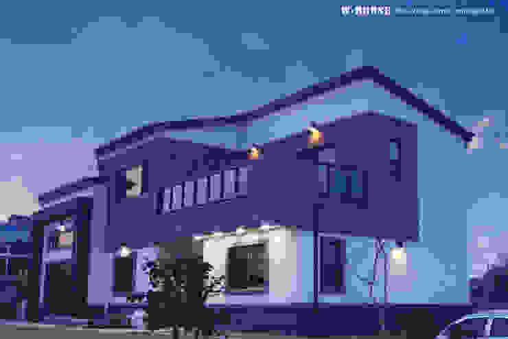 익산 임상리 50평형 ALC주택 by W-HOUSE 모던 콘크리트