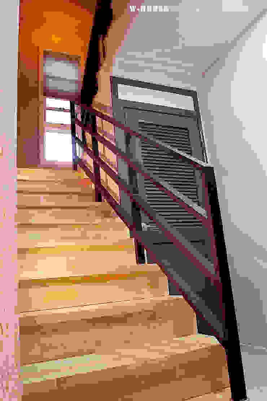 익산 임상리 50평형 ALC주택 by W-HOUSE 모던 솔리드 우드 멀티 컬러