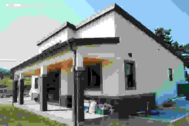서천 8호 35평형 ALC전원주택 by W-HOUSE 모던 콘크리트