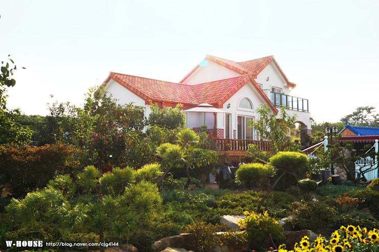 서천3호 35평형 친환경ALC전원주택 by W-HOUSE 지중해 콘크리트