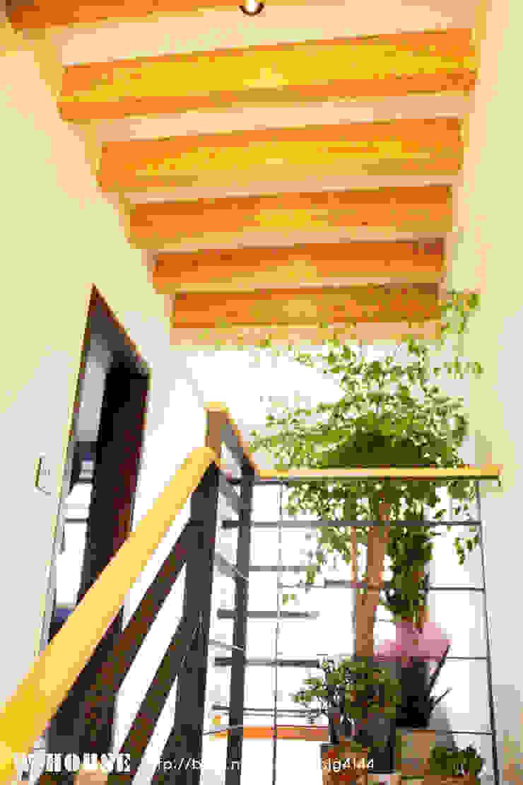 서천3호 35평형 친환경ALC전원주택 by W-HOUSE 모던 석회암