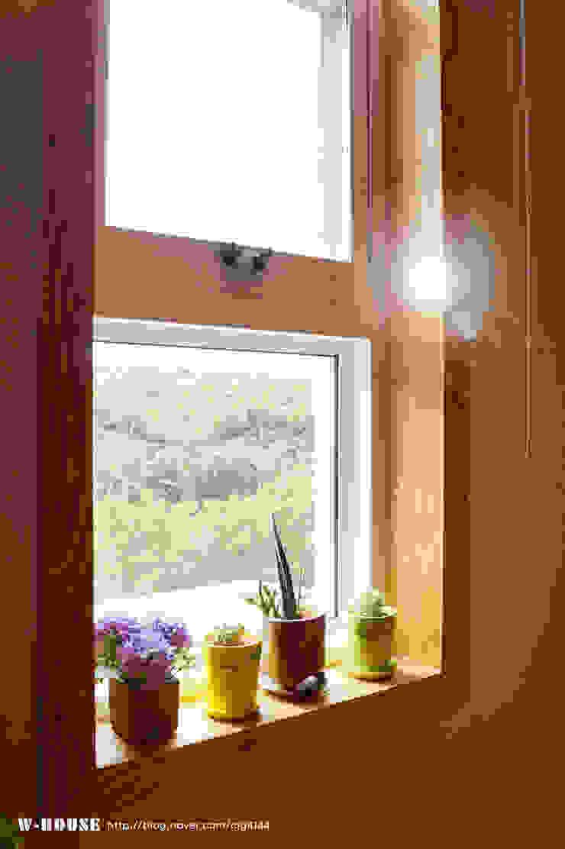 서천3호 35평형 친환경ALC전원주택 by W-HOUSE 클래식 솔리드 우드 멀티 컬러