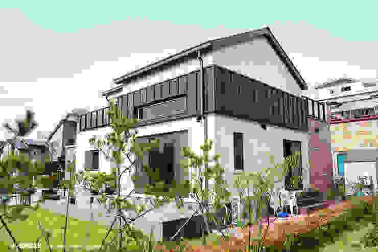 전주 혁신도시 45평형 ALC친환경주택 by W-HOUSE 모던 콘크리트