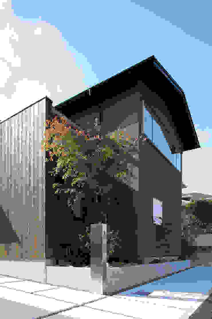 北大和の家 の ニュートラル建築設計事務所 ミニマル 木 木目調