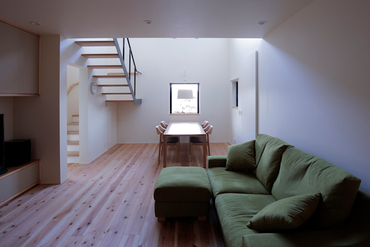 北大和の家 ミニマルデザインの リビング の ニュートラル建築設計事務所 ミニマル