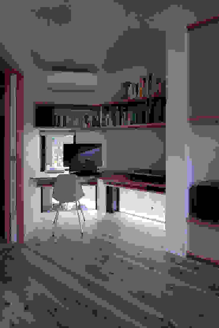 北大和の家 ミニマルデザインの 書斎 の ニュートラル建築設計事務所 ミニマル