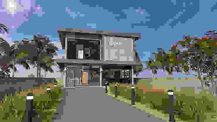 บ้านสองชั้น แบบบ้านออกแบบบ้านเชียงใหม่ บ้านเดี่ยว