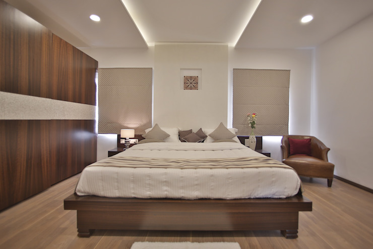 Tranquil Home Modern style bedroom by Architecture Continuous Modern