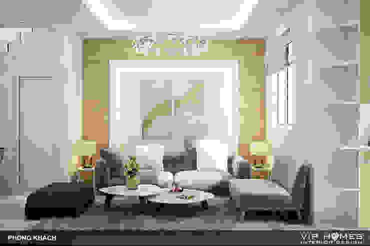 Thiết kế nội thất phòng khách bởi homify