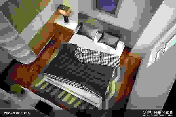 Thiết kế nội thất phòng ngủ con trai bởi homify
