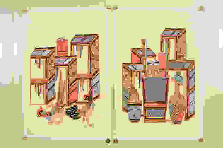 책가도: 사)한국전통민화연구소의 아시아틱 ,한옥