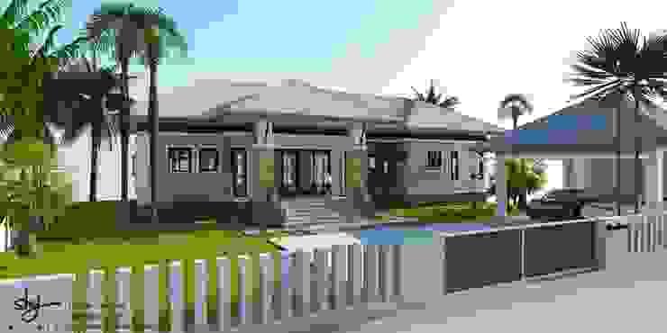 ออกแบบบ้าน คุณหนึ่ง @ อ.น้ำหนาว โดย HAU Design & Construction