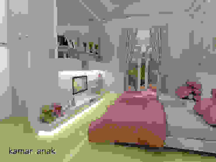 Pantai Mutiara R41 Kamar Tidur Modern Oleh sony architect studio Modern