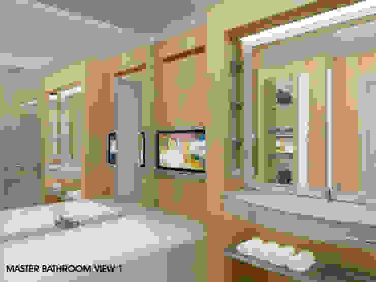Pantai Mutiara R41 Kamar Mandi Modern Oleh sony architect studio Modern