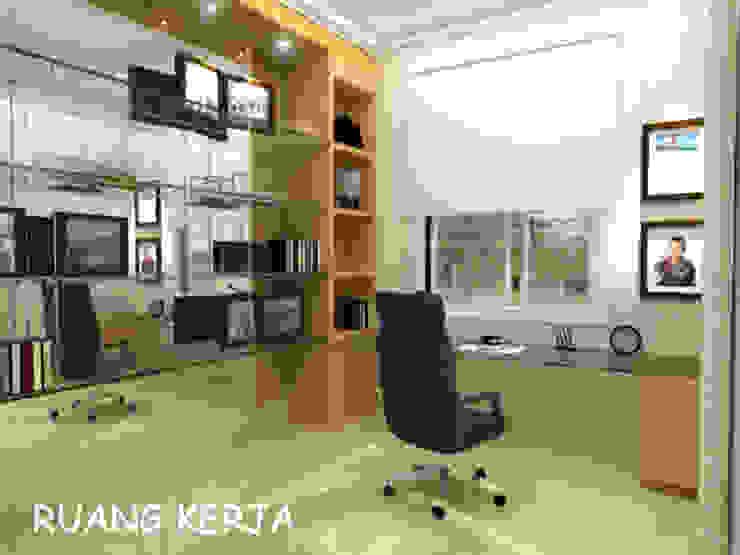 Pantai Mutiara R41 Ruang Studi/Kantor Modern Oleh sony architect studio Modern
