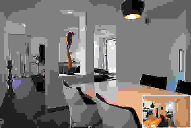 eetkamer Moderne eetkamers van KleurInKleur interieur & architectuur Modern