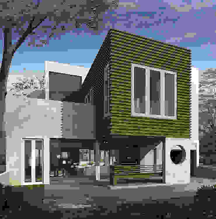 BENGKULU SMALL HOUSE Rumah Modern Oleh sony architect studio Modern