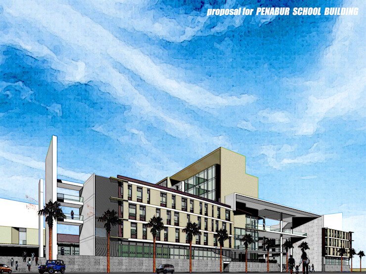 BPK PENABUR PROPOSAL Rumah Modern Oleh sony architect studio Modern