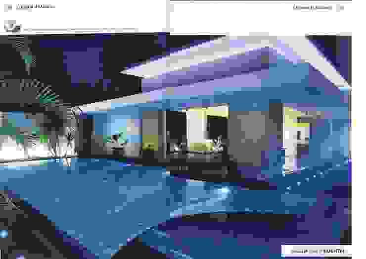 BUCTHAL GERMANY MENDUT Kolam Renang Modern Oleh sony architect studio Modern