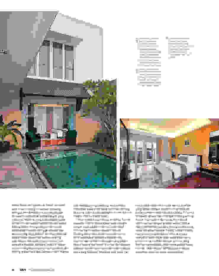 CINERE AT MAJALAH ASRI Kolam Renang Modern Oleh sony architect studio Modern