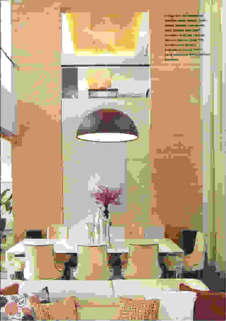 CINERE AT MAJALAH LARAS Ruang Makan Modern Oleh sony architect studio Modern