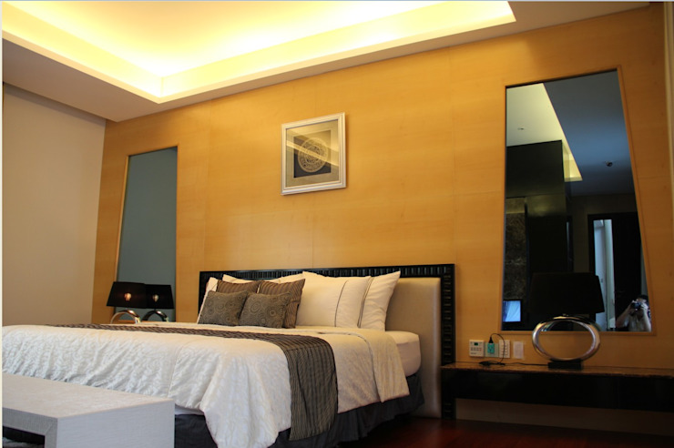 CINERE AT MAJALAH LARAS Kamar Tidur Modern Oleh sony architect studio Modern