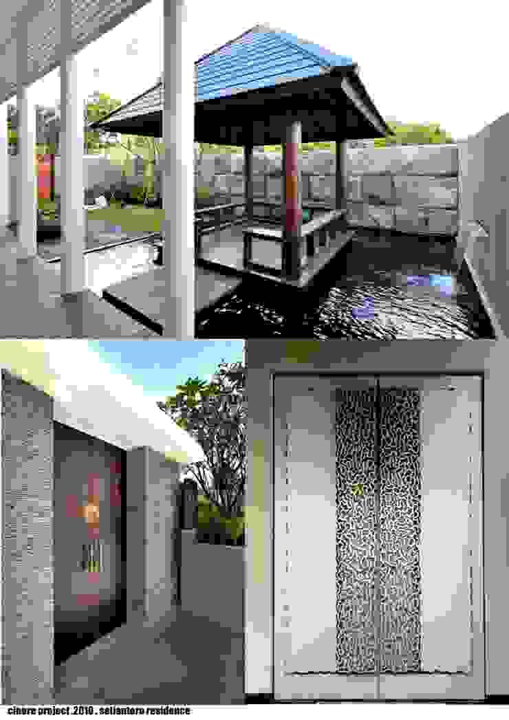 CINERE AT MAJALAH LARAS Taman Modern Oleh sony architect studio Modern