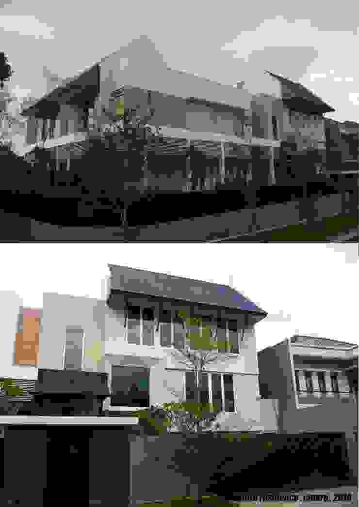 CINERE AT MAJALAH LARAS Rumah Modern Oleh sony architect studio Modern