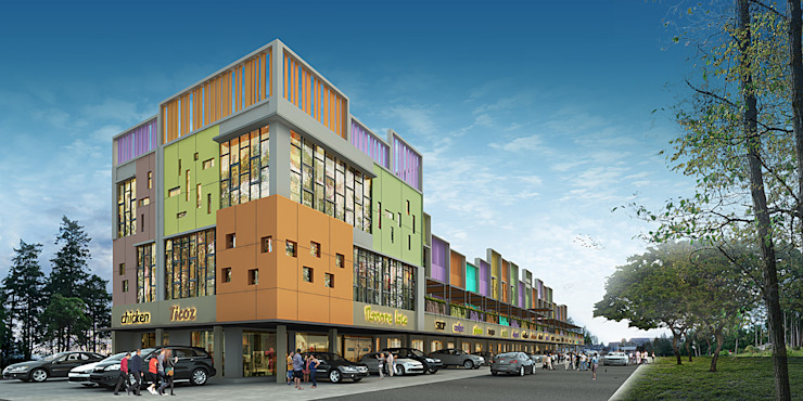 CIREBON RUKO:modern  oleh sony architect studio, Modern