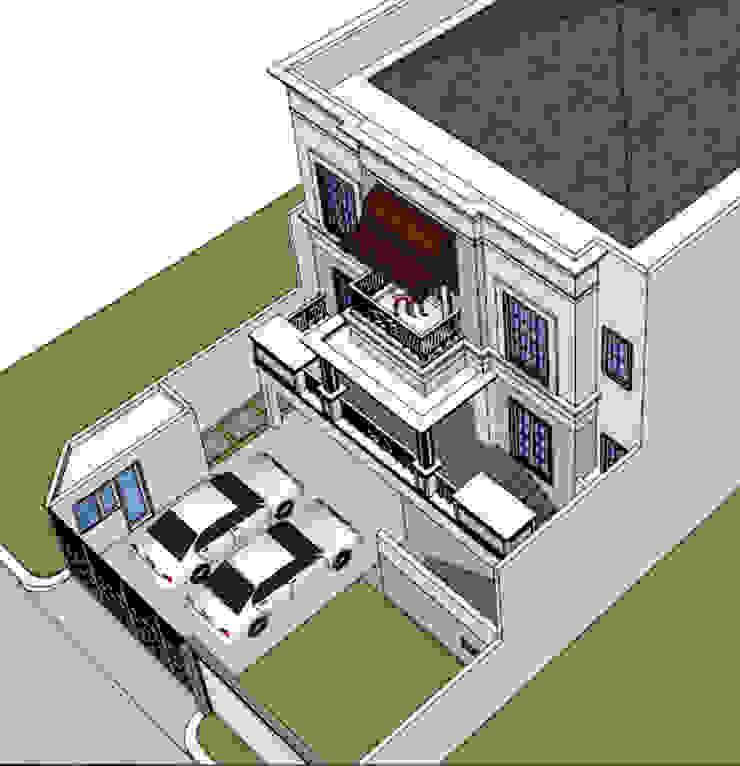 CISADANE 30, MENTENG:modern  oleh sony architect studio, Modern