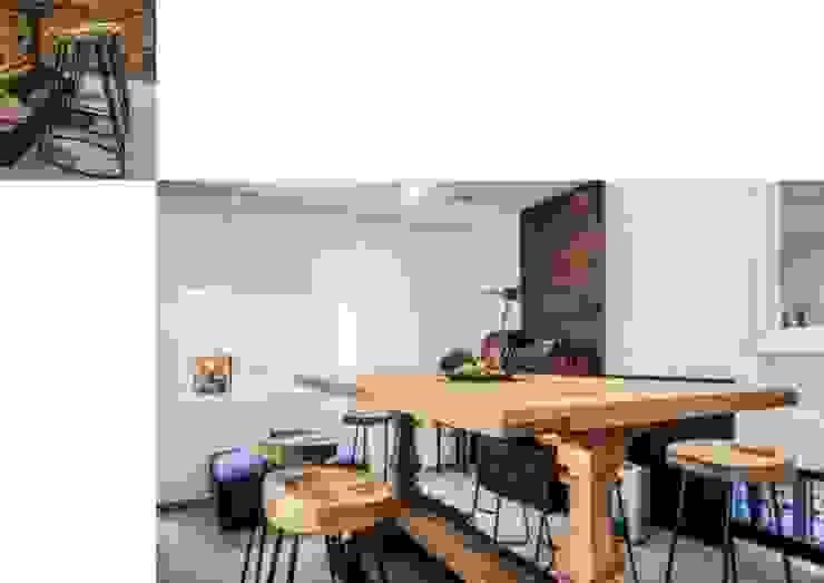 Weekend home Scandinavian style dining room by workroom Scandinavian