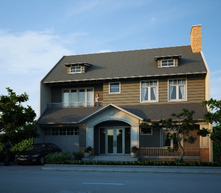 HENRY MARIA Rumah Modern Oleh sony architect studio Modern