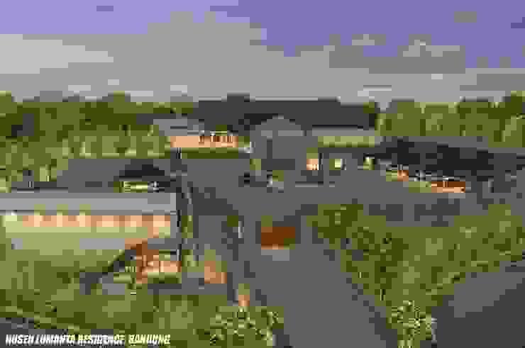 HUSEN LUMANTA ,BANDUNG Rumah Modern Oleh sony architect studio Modern