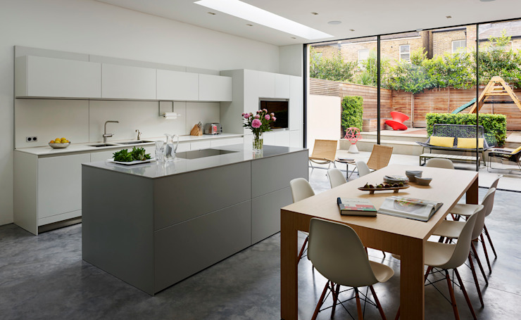 Contemporary living Cuisine moderne par Kitchen Architecture Moderne
