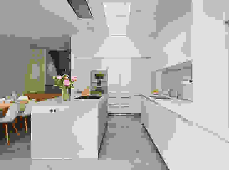 Contemporary living Nhà bếp phong cách hiện đại bởi Kitchen Architecture Hiện đại