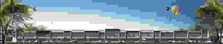 KETANGGUNGAN RUKO Rumah Modern Oleh sony architect studio Modern